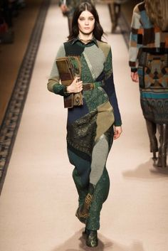 MFW Runway Review: Etro Fall 2015