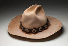 Akubra hat worn by Bruce Breaden.