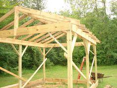 Comment Construire Une Cabane 12x20 (3.6x6m) Pas Cher - Small Spaces Addiction ©