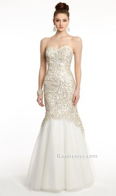 http://www.ikmdresses.com/Beaded-Mermaid-Dress-with-Sweetheart-Neckline-p87185