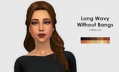 Sims 4   Kiara24/My Stuff & KiwiSims Luxury Party Hairstyle Edit #ELLESMEA hairs for female adult