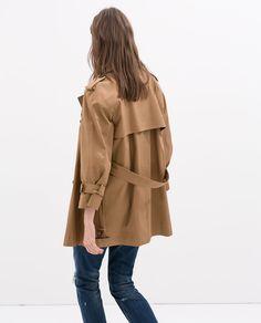 Bilde 4 fra KORT TRENCHCOAT fra Zara