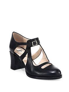 7d9ce67abbf6 Fendi - Chameleon Leather Mary Jane Pumps