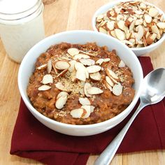 Overnight Steel Cut Oatmeal