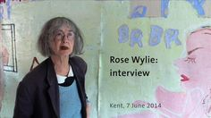Rose Wylie: interview (part one), Kent, 7 July 2014. on Vimeo