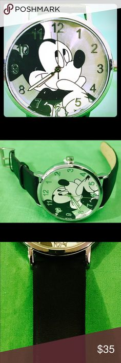 Mickey Mouse 🐭 Watch ⌚️ Mickey Mouse 🐭 Watch ⌚️ Disney Accessories Watches