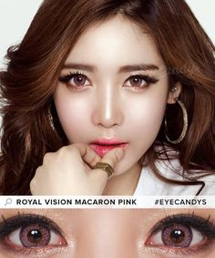 1e09ae89eb58a Buy Royal Vision Macaron Pink Colored Contacts