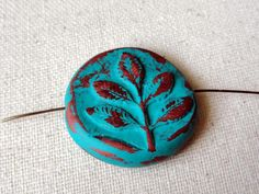Focal Bead Connector  Polymer Clay Beads   by BeadSoupBeads, $9.00