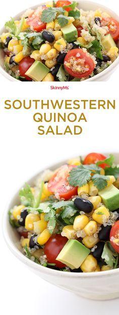 Southwestern Quinoa Salad: Fresh and Fabulous! #quinoa #cleaneating