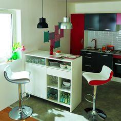 les 25 meilleures id es de la cat gorie meuble snack sur pinterest cuisine quip e moderne. Black Bedroom Furniture Sets. Home Design Ideas