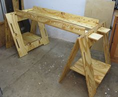Klappböcke - Holzwerken Artikel