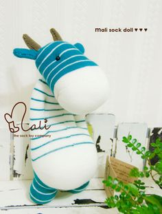 Mali Sock Doll Cow Tumtum by malidolls on Etsy