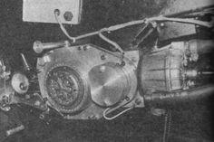73 Jamathi  engine with DRM (Dutch racing motors) cylinder