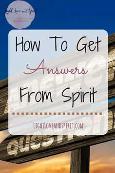 How to get answers to questions. Answers from spirit! Spiritual Guidance, Spiritual Growth, Spiritual Awakening, Spiritual Life, Psychic Development, Psychic Abilities, Be True To Yourself, Spirit Guides, Psychic Mediums