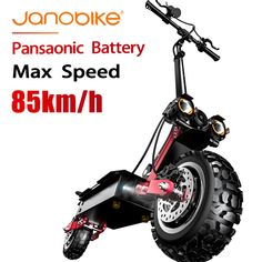 Buy janobike 5600W T85 electirc scooter 85km/h scooter electric 32Ah  Battery kick scooter with Hydraulic Brake Dual Drive at www.smilys-stores.com! Free shipping. 45 days money back guarantee. Electric Bicycle For Sale, Cheap Electric Scooters, Electric Scooter With Seat, Electric Motor, Two Wheel Scooter, Kick Scooter, Motor Engine, Speed Bike, Motor Scooters