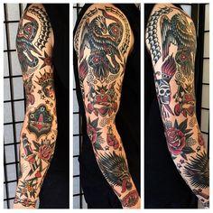 OLDLINES — #tattoo by @zachnelligan  #tattoos #tattooart...