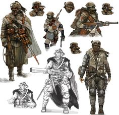 Game Concept Art Video game character concept