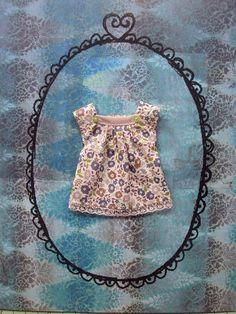 Cap sleeve blouse for Blythe - Liberty print 3 by moshimoshistudio