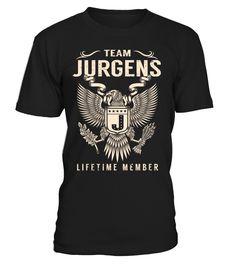 Team JURGENS Lifetime Member