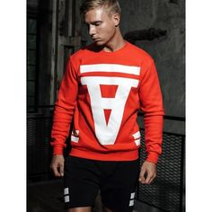 Supawear Crimson Sweater Red (T4760) Mens Sweatshirts, Hoodies, Gay, Sweat It Out, Red Sweaters, Keep Warm, Jackets, Tops, Fashion