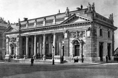 The Royal Guards Building in 1912, Budapest