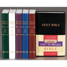 KJV Gift & Award Bibles  #gift #holyland #mitzvah #judaica #israel #israeli #jewish