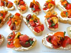 The Foodie Physician: Dining with the Doc: Rustic Summer Bruschetta - YUM! #hgeats