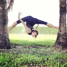 Irina Kazakova, gravity defying