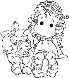 Blank Christmas Coloring Pages To Print