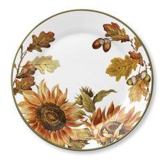 Botanical Sunflower Dinner Plates, Set of 4 #williamssonoma