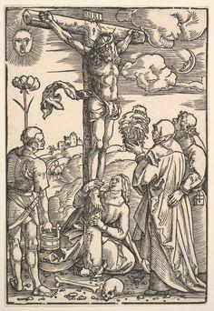 Hans Baldung : The Crucifixion (National Museum of Western Art - Tokyo  (Japan - Tokyo)) 1484-1545 ハンス・バルドゥング