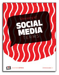 Download the Social Media Glossary of terms from Hot Potato | Social Media definitions