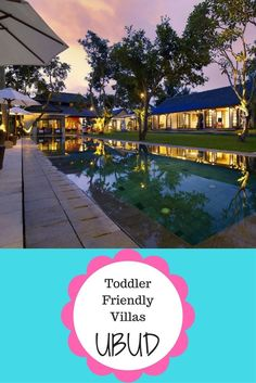 Toddler Friendly villas in Ubud. We have researched the best villas in Ubud to stay with young kids Maldives Travel, Bali Travel, All Family, Family Travel, Bali With Kids, Bali Holidays, Gili Island, Romantic Travel