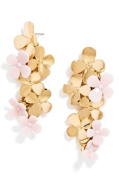 BaubleBar 'Phlox' Drop Earrings available at #Nordstrom