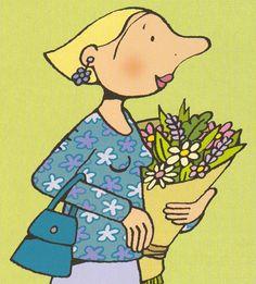 Afbeeldingsresultaat voor bloemetje voor mama