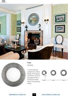 Interiors in Style - Bad Homburg Luxury Furniture, Office Furniture, Christopher Guy, Mirror 3, Hospitality, Luxury Branding, Portal, Egypt, Upholstery