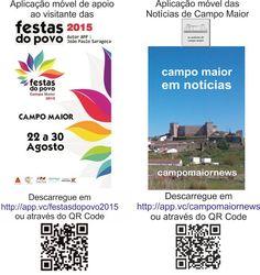 Campomaiornews: Aplicações móveis para apoio aos que visitam e pro...