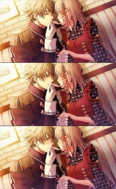 Amnesia - Kent and heroine Scene Couples, Cute Anime Couples, Amnesia Memories, Otaku, Video Game Anime, Video Games, Blue Springs Ride, Comic, Manga Couple