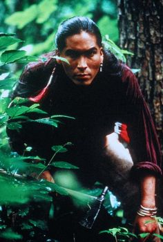 Uncas - Eric Schweig in The Last of the Mohicans, set in 1757 (1992).