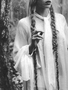.I love the very long hair.