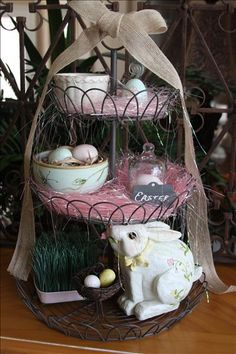Easter - Three Tiered Stand
