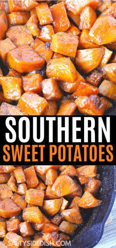 Stove Top Sweet Potatoes with Brown Sugar Butter