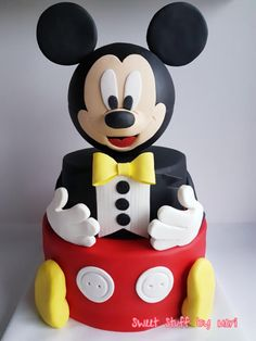Mickey Mouse - Cake by Meri