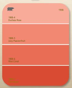 Coral Paint Colors Mesmerizing With Behr Coral Paint Colors Image