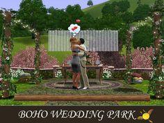 evi's Sims 3 Downloads Sims 3, Boho Wedding, Bohemian Weddings