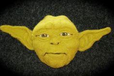Yoda, Star Wars  Felted for my son