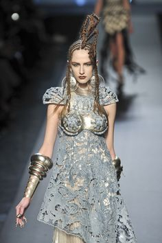 Brienne of Tarth - Jean Paul Gaultier Haute Couture spring 2010