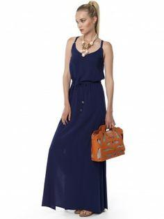 #navy_maxi Navy Maxi, Maxi Dresses, Dresses For Work, Fashion, Moda, Fashion Styles, Curve Maxi Dresses, Fashion Illustrations