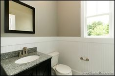 Image result for bathrooms with wainscoting