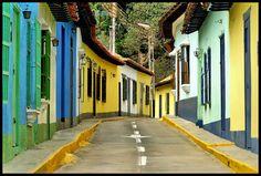 Choroni, pueblo del estado Aragua, situado al norte de Venezuela